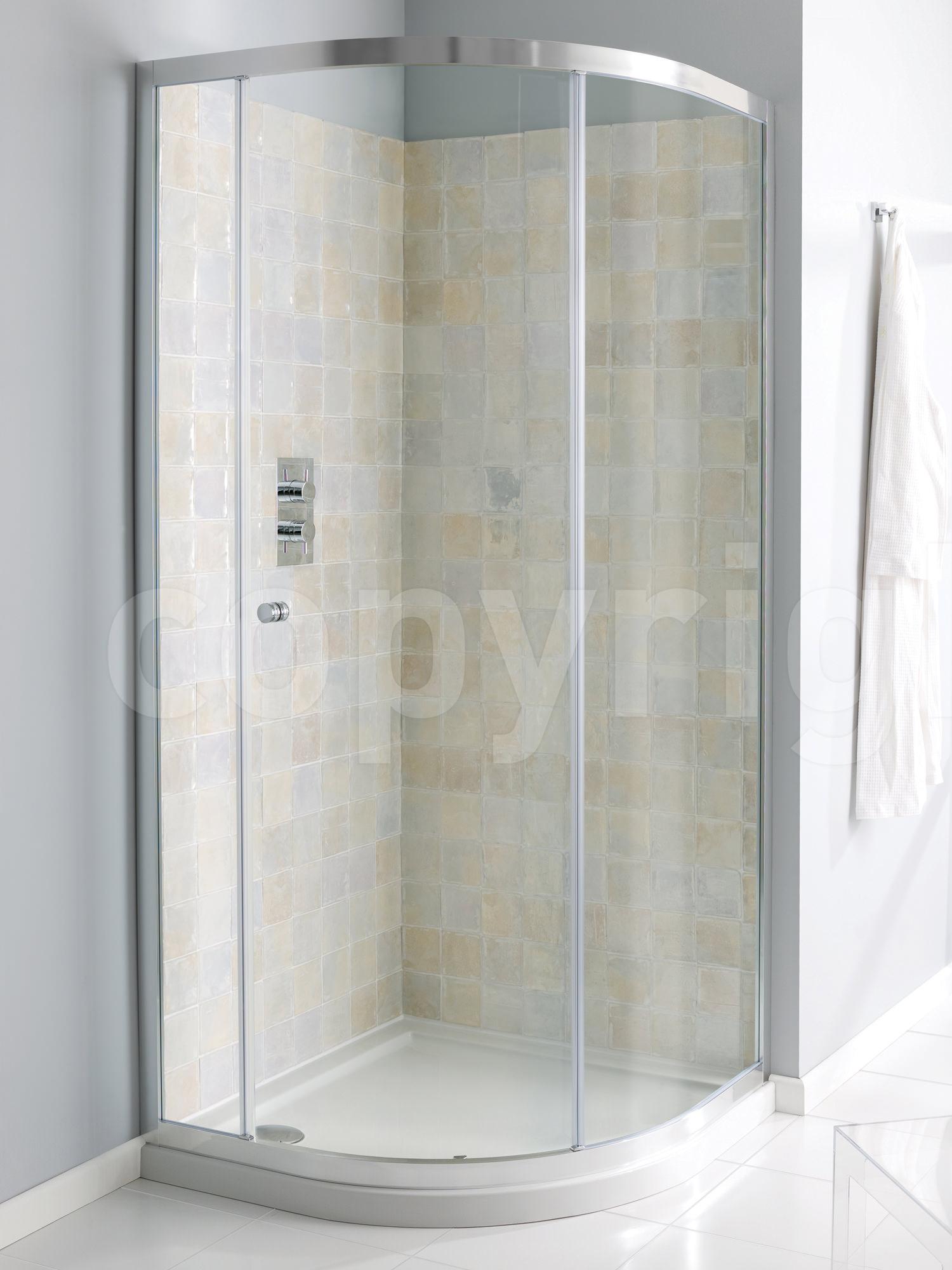 Simpsons Edge Single Door Quadrant Shower Enclosure 1200 X
