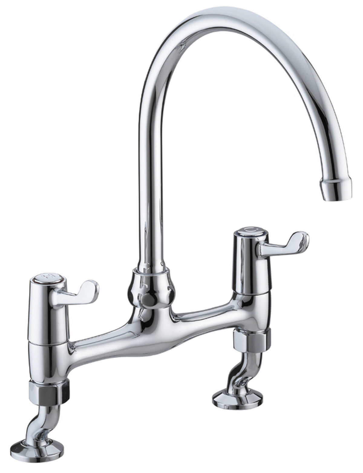 mixer taps for kitchen sink bristan value lever bridge kitchen sink mixer tap with 9182