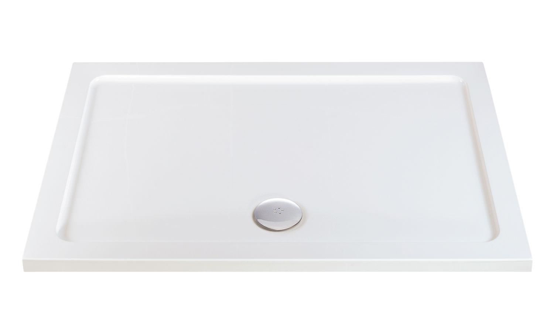 Phoenix Low Profile Shower Rectangular Shower Tray 1200 x 700mm - LP044