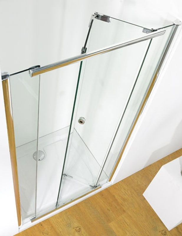 Kudos Infinite Centre Folding Door 800mm Silver