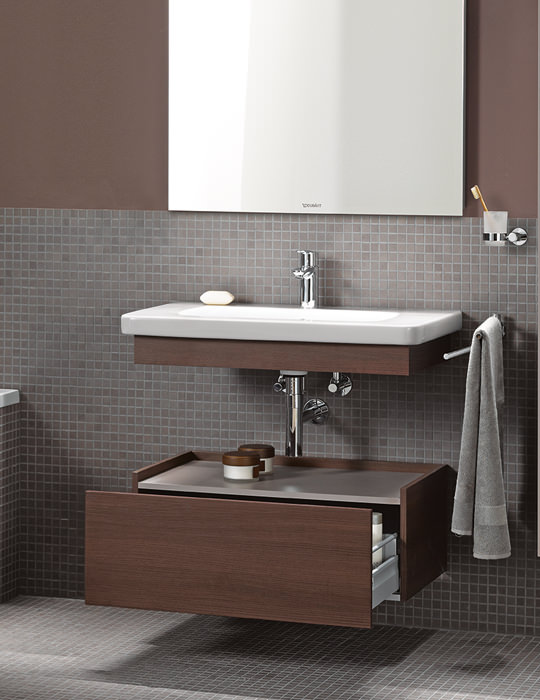 duravit cabinets bathrooms duravit durastyle 650mm basin with trim and low cabinet 15089