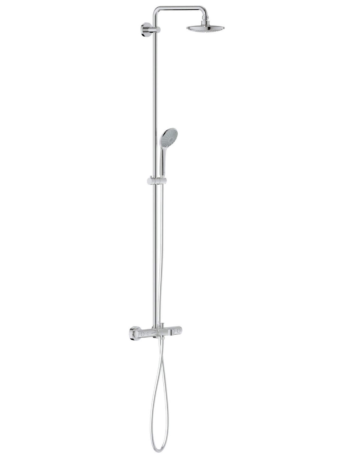 grohe euphoria cosmopolitan 180 shower system with 450mm. Black Bedroom Furniture Sets. Home Design Ideas
