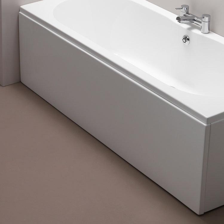 Pura 1800mm White Bath Side Panel