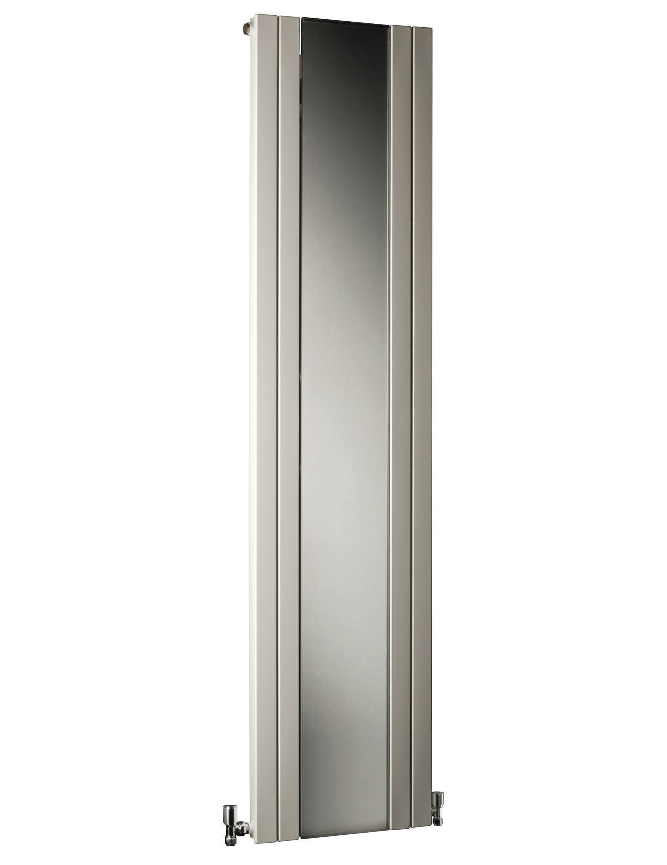 Dq heating rt mirror 4 panels vertical radiator 435 x 1800mm for Mirror radiator