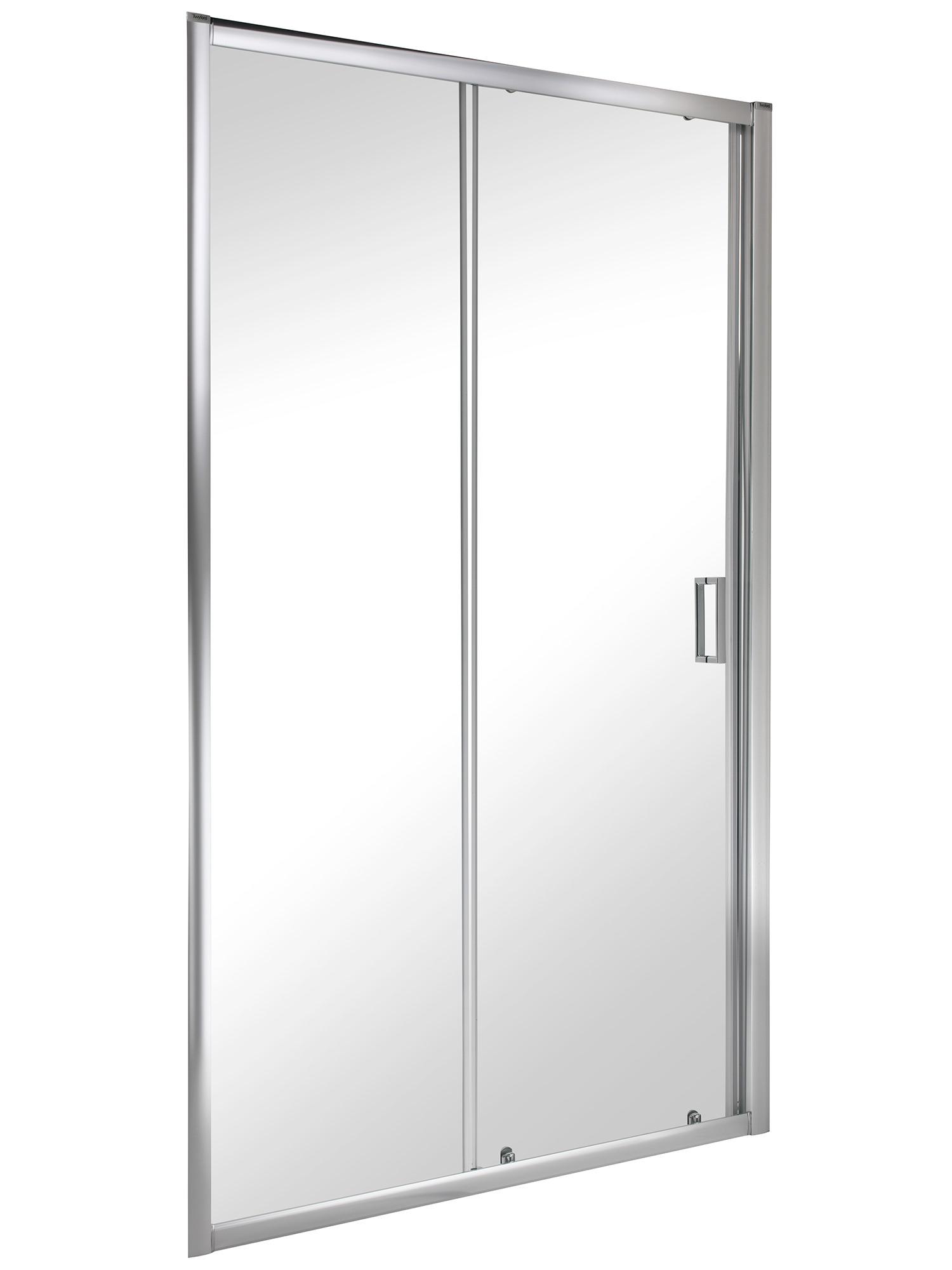 Twyford es200 1000mm sliding shower enclosure door for 1000mm sliding shower door
