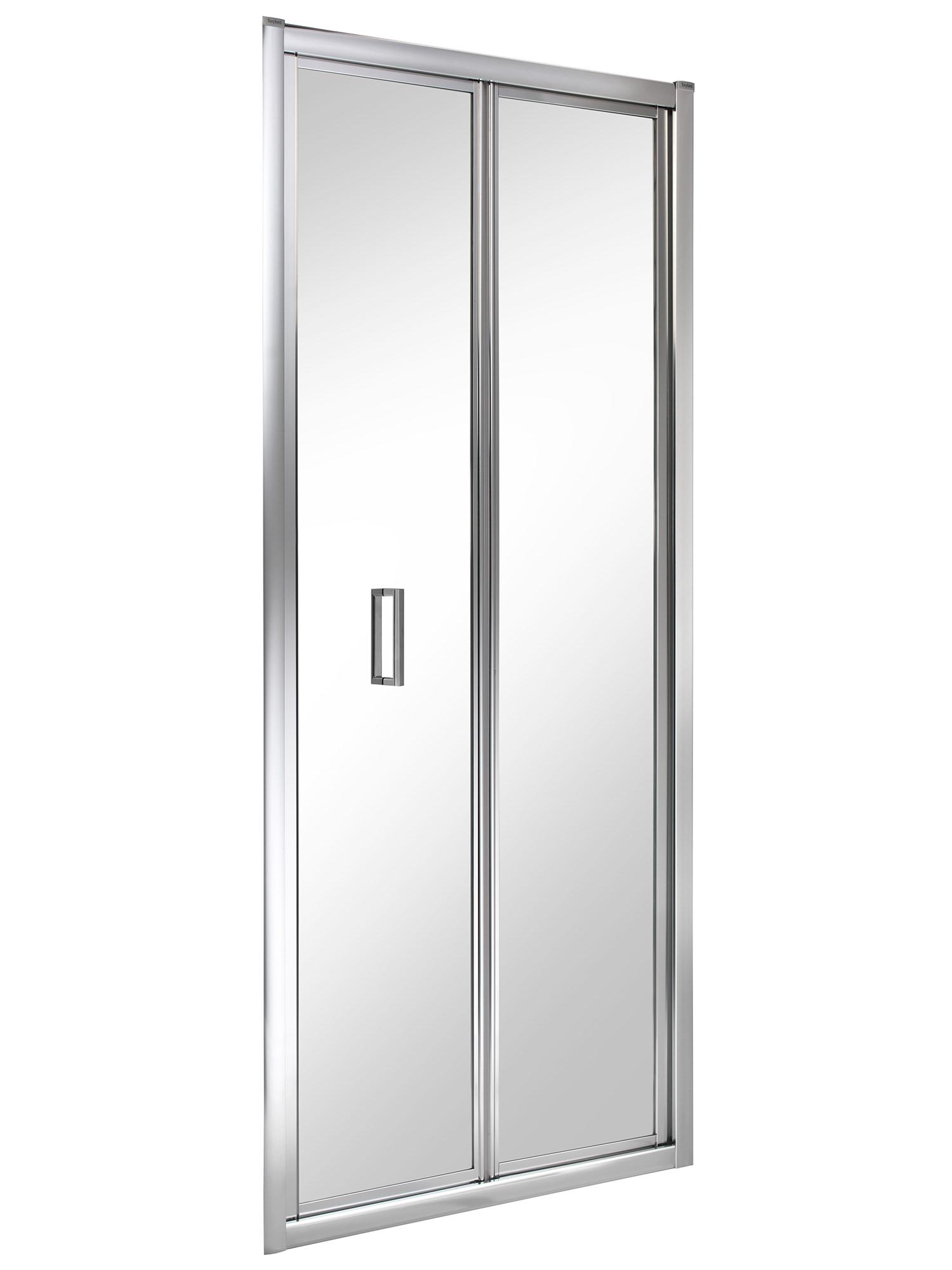 Bifold Bathroom Door: Twyford ES200 760mm Bi-Fold Shower Enclosure Door