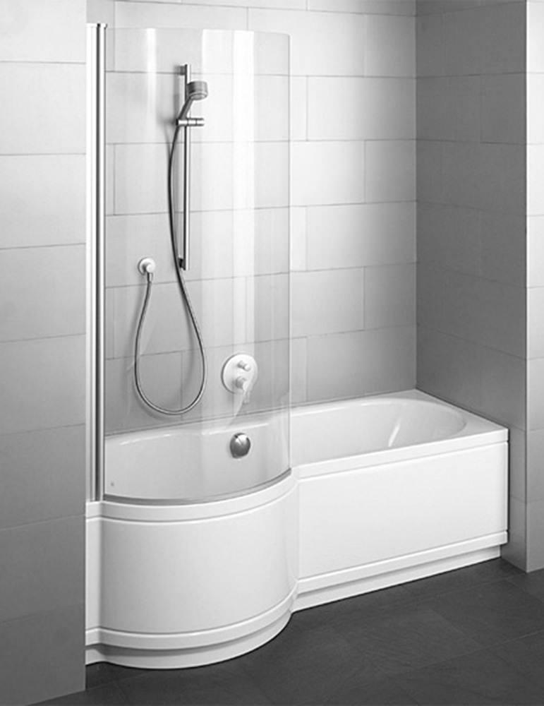 Cora Comfort Niche Super Steel Shower Bath 1600 x 900mm LH