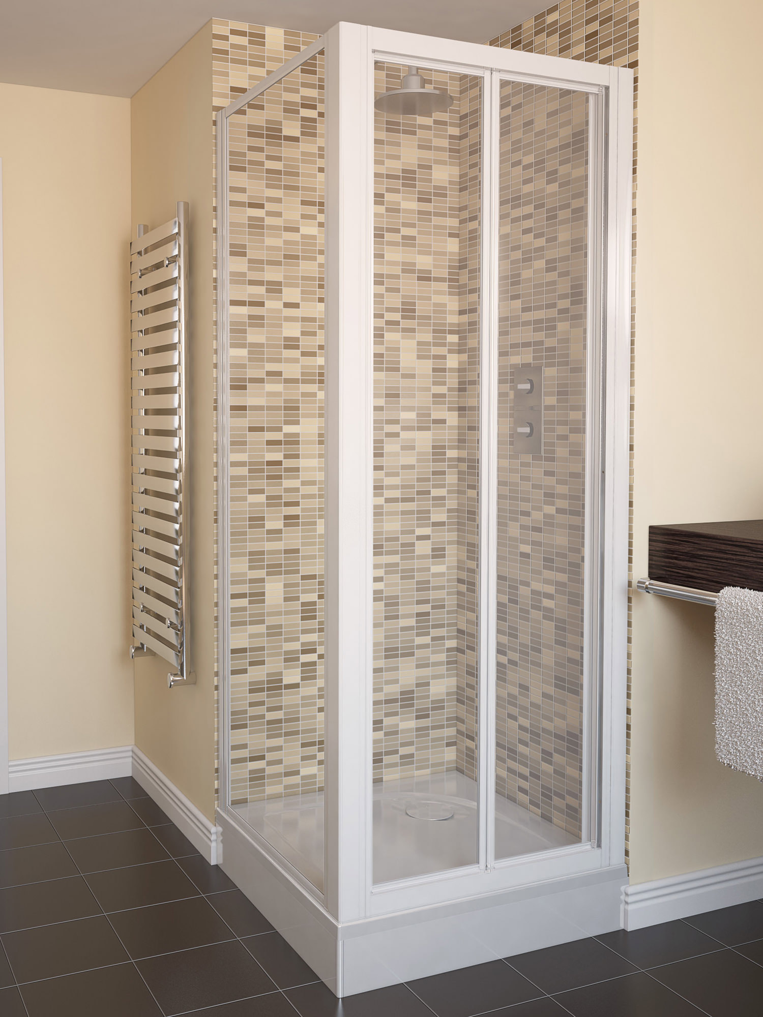 Bi Fold Shower Doors | Sizes 700 800 900 and 1000mm now available
