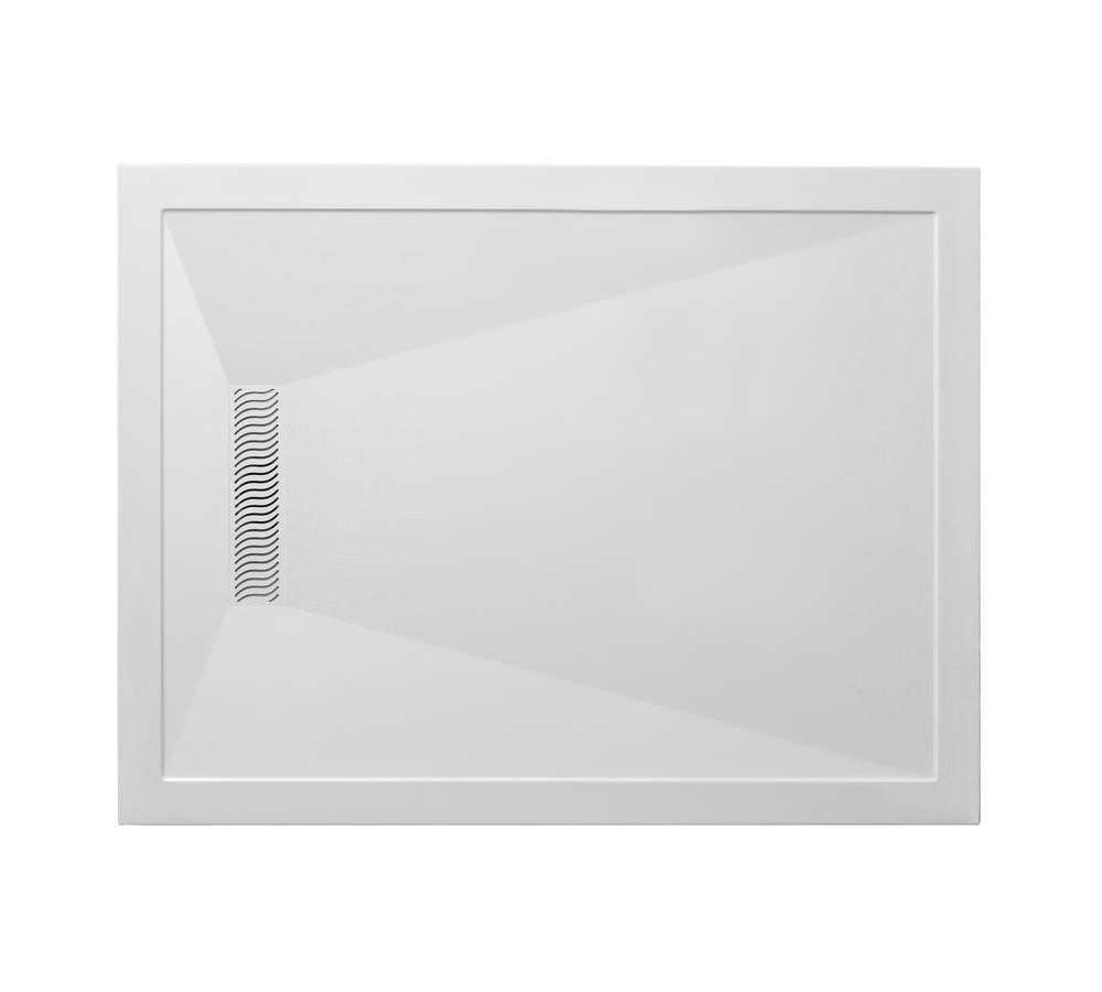 Simpsons Rectangular 1500mm Shower Tray With Linear Waste