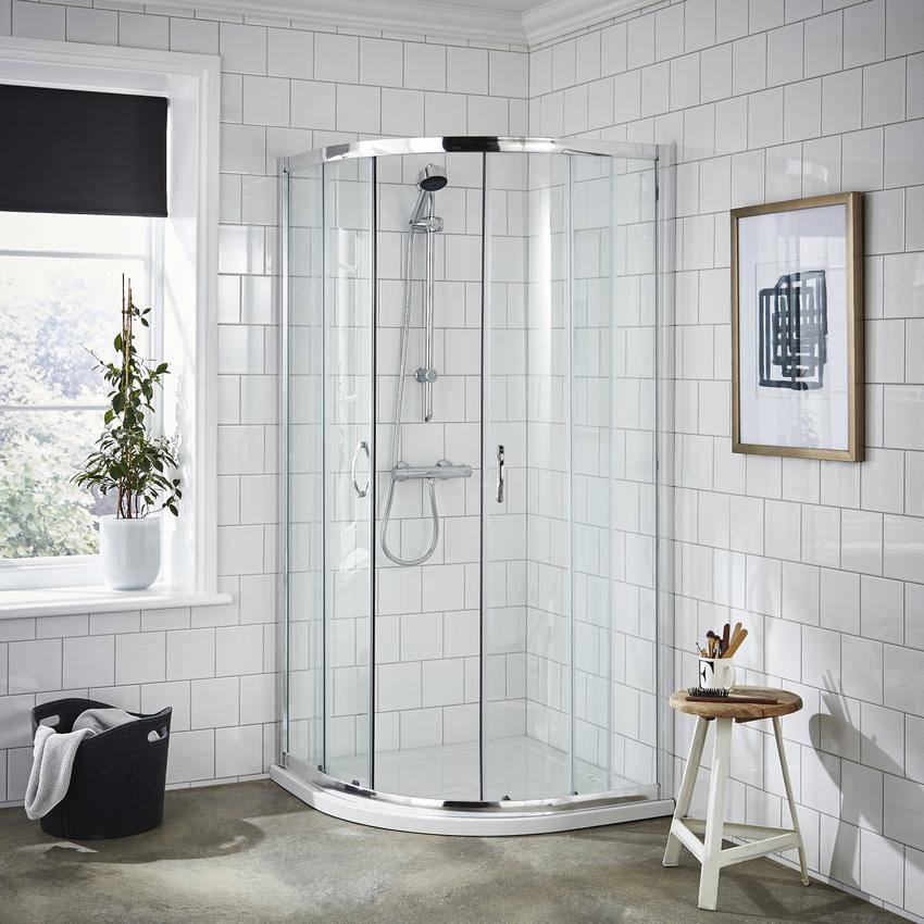 Premier Ella 800 X 800mm Quadrant Shower Enclosure