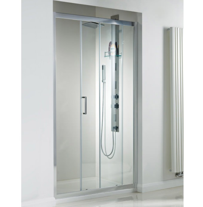 Phoenix spirit 1700mm framed single sliding door se913 for 1800mm high shower door