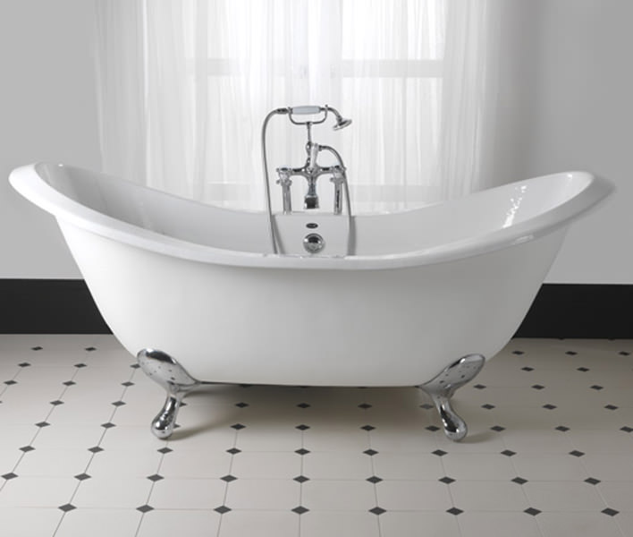 Slipper Bath Uk Imperial sheraton 1800mm slipper bath with ball g and h chrome feet sisterspd