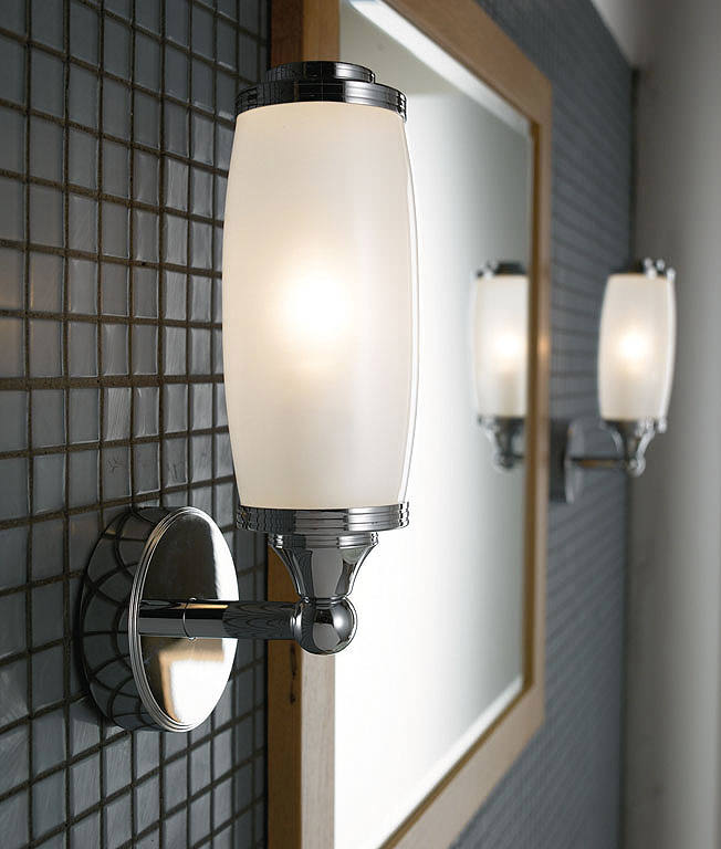 bathroom cabinets images imperial toledo single wall light and glass shade 10381