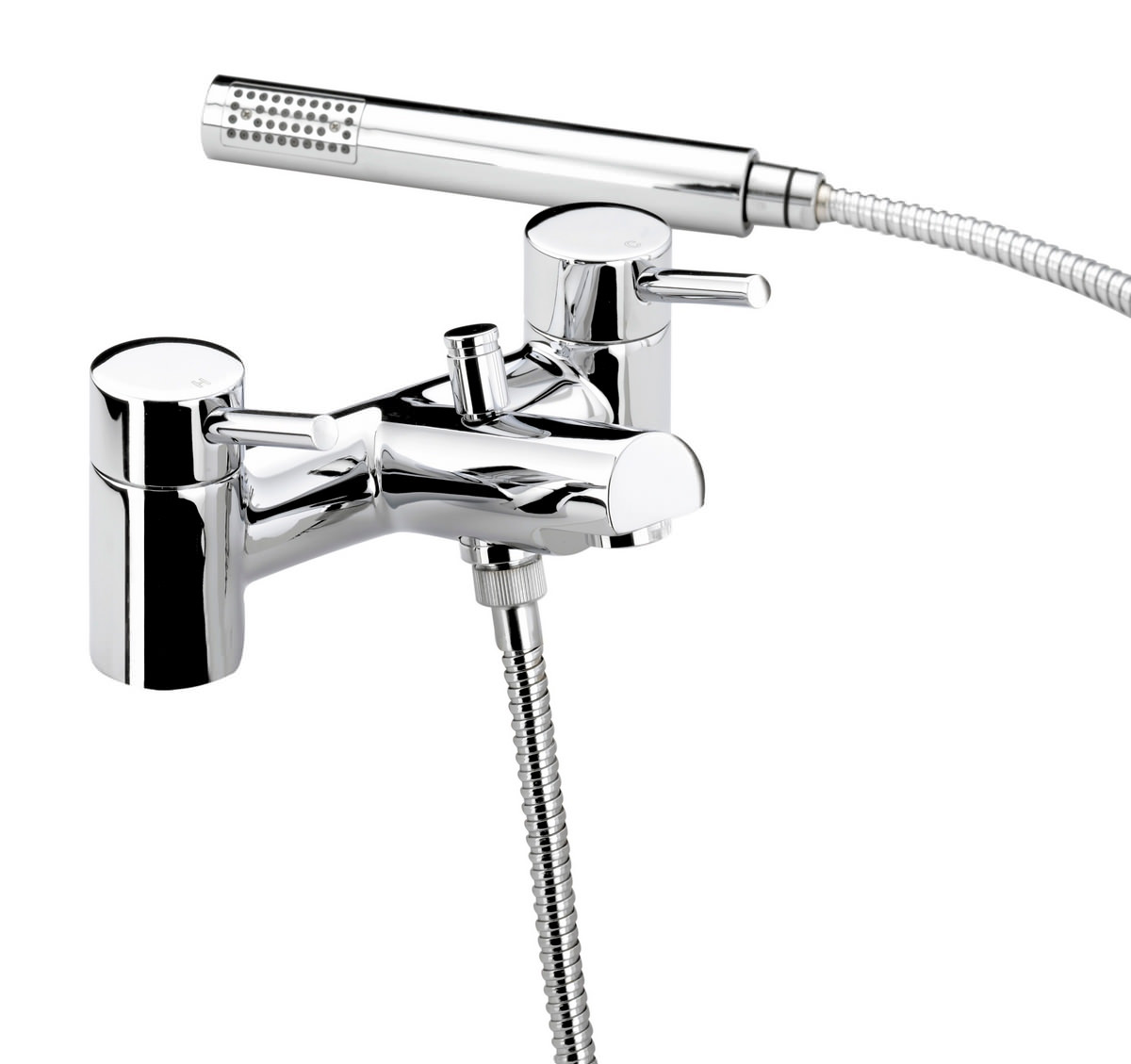 Bristan Prism Pillar Bath Shower Mixer Tap With Kit