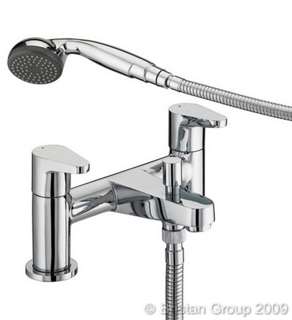 bristan quest bath shower mixer tap with shower kit. Black Bedroom Furniture Sets. Home Design Ideas