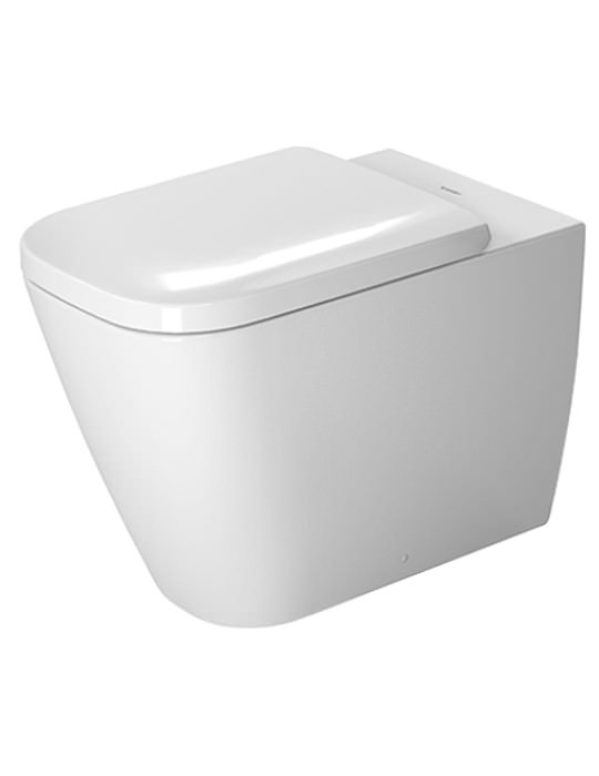 duravit happy d2 365 x 570mm floor standing toilet - Duravit Toilet