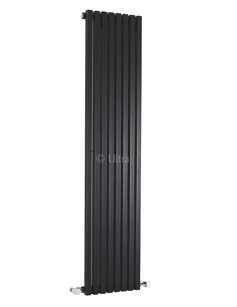 Ultra Kinetic 360 X 1800mm Black Wall Mounted Designer