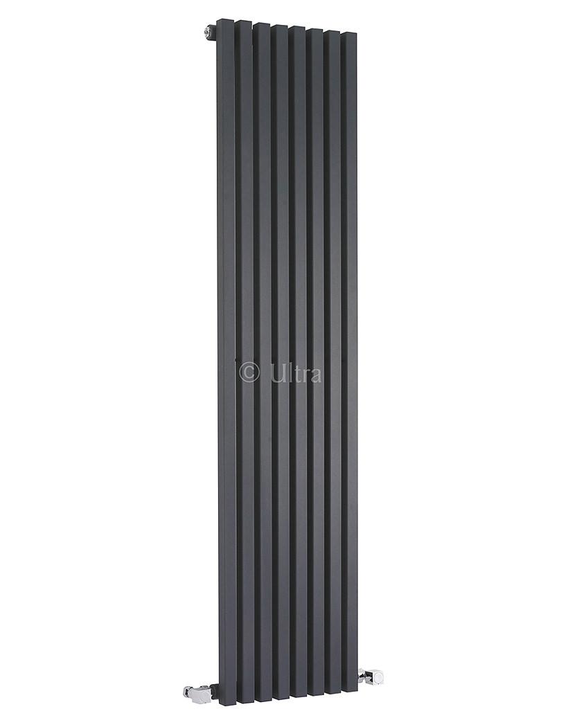 Ultra Kinetic 360 X 1800mm Anthracite Finish Designer Radiator