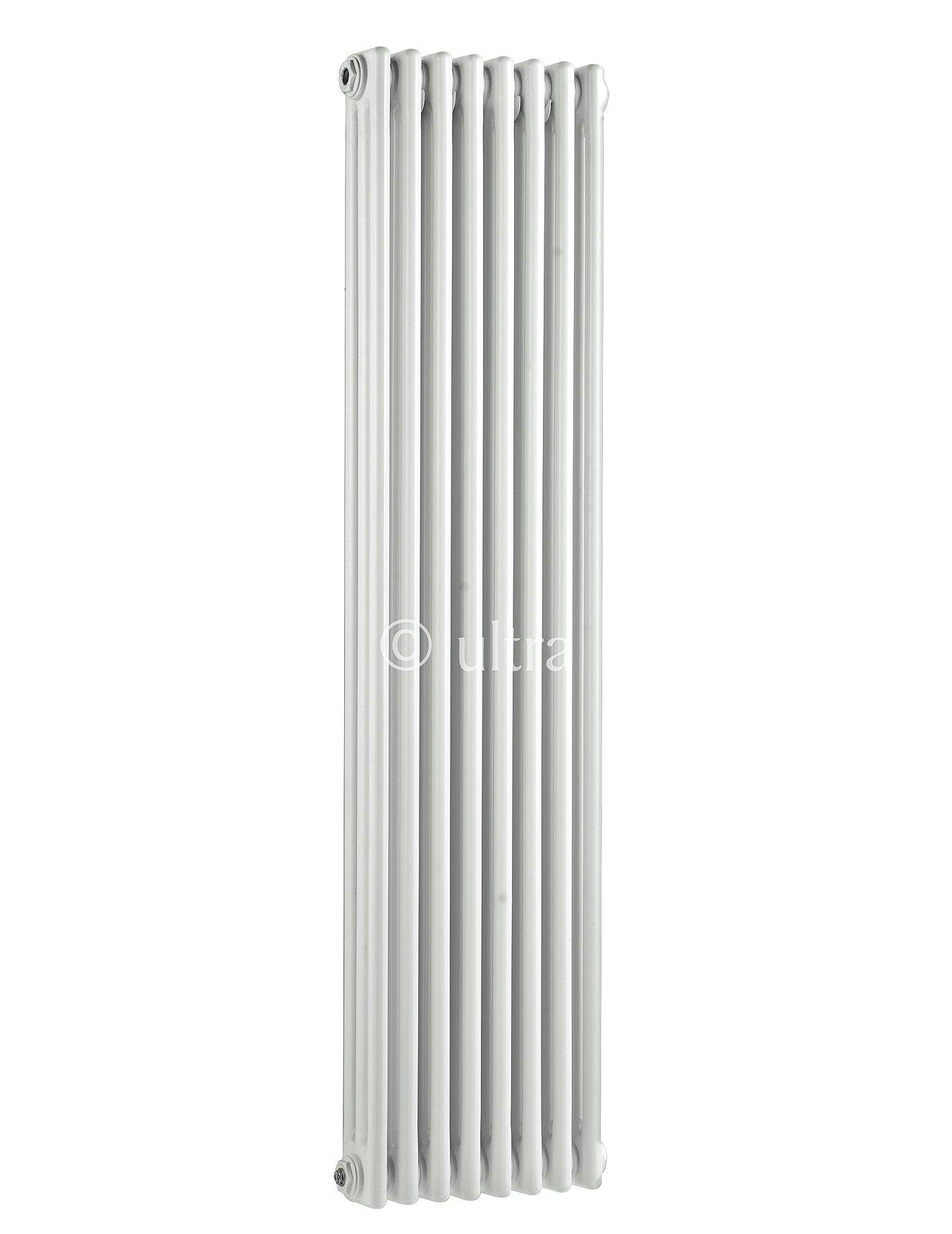 Ultra Colosseum White Finish Triple Column Radiator 1800 X