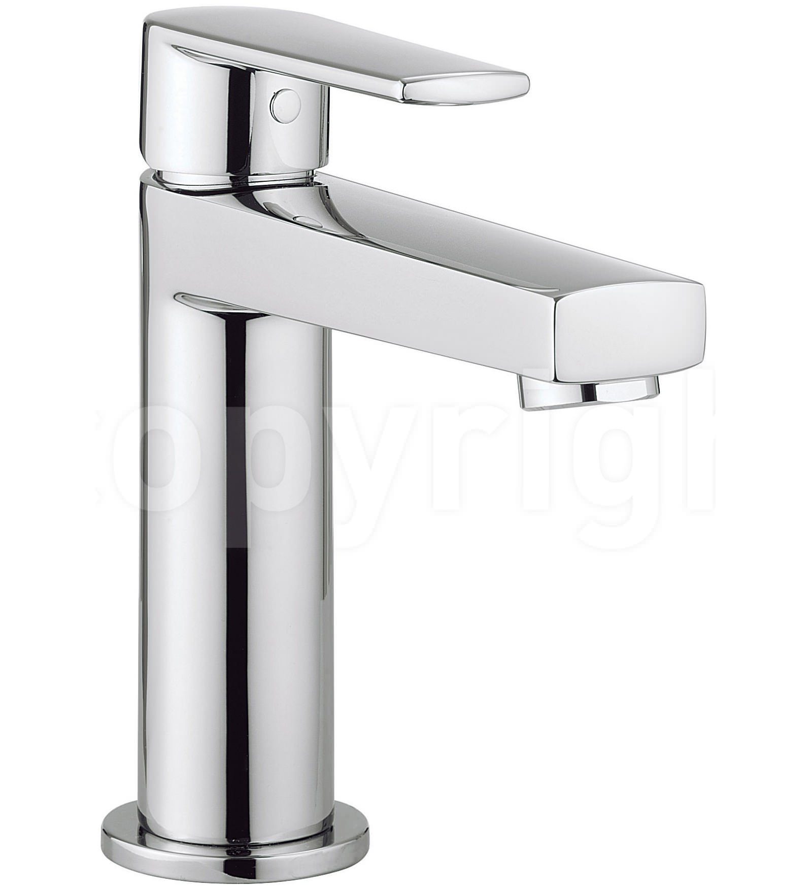 crosswater solo monobloc basin mixer tap chrome. Black Bedroom Furniture Sets. Home Design Ideas
