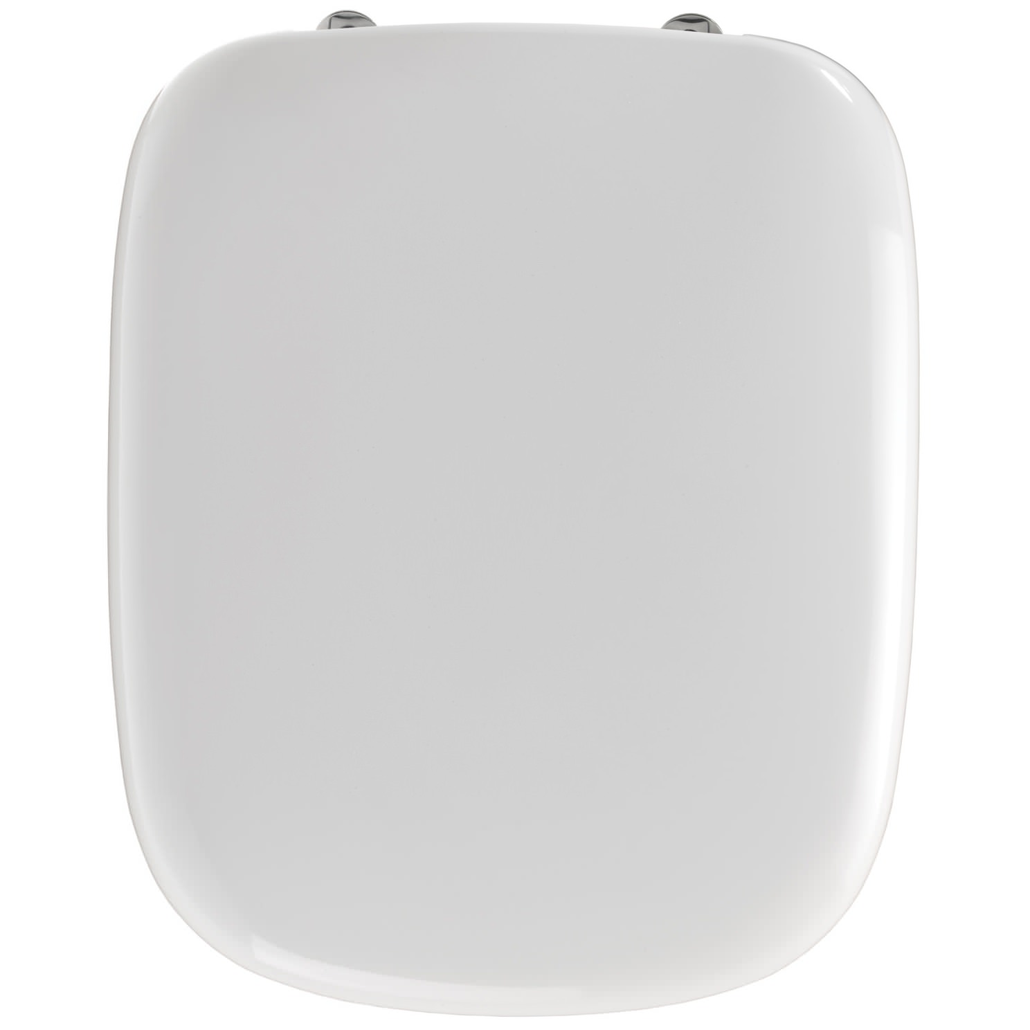 Twyford Moda Toilet Seat And Cover With Stainless Steel Hinges