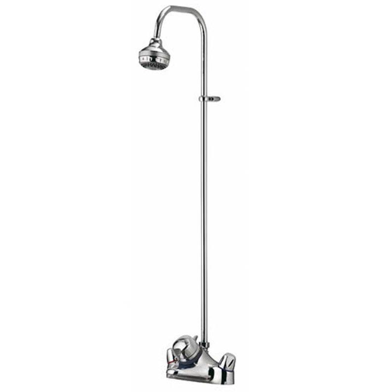 aqualisa aquamixa exposed combi bath shower mixer with