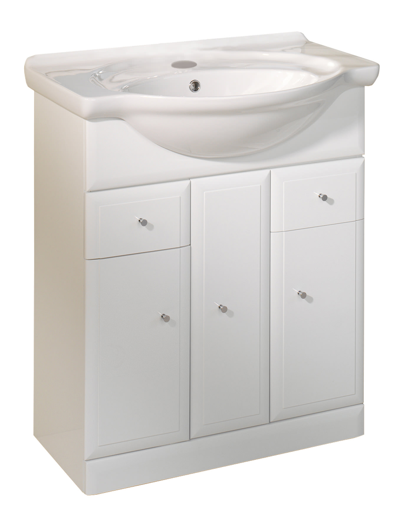 Roper rhodes valencia 700mm freestanding basin unit for Bathroom cabinets 700mm