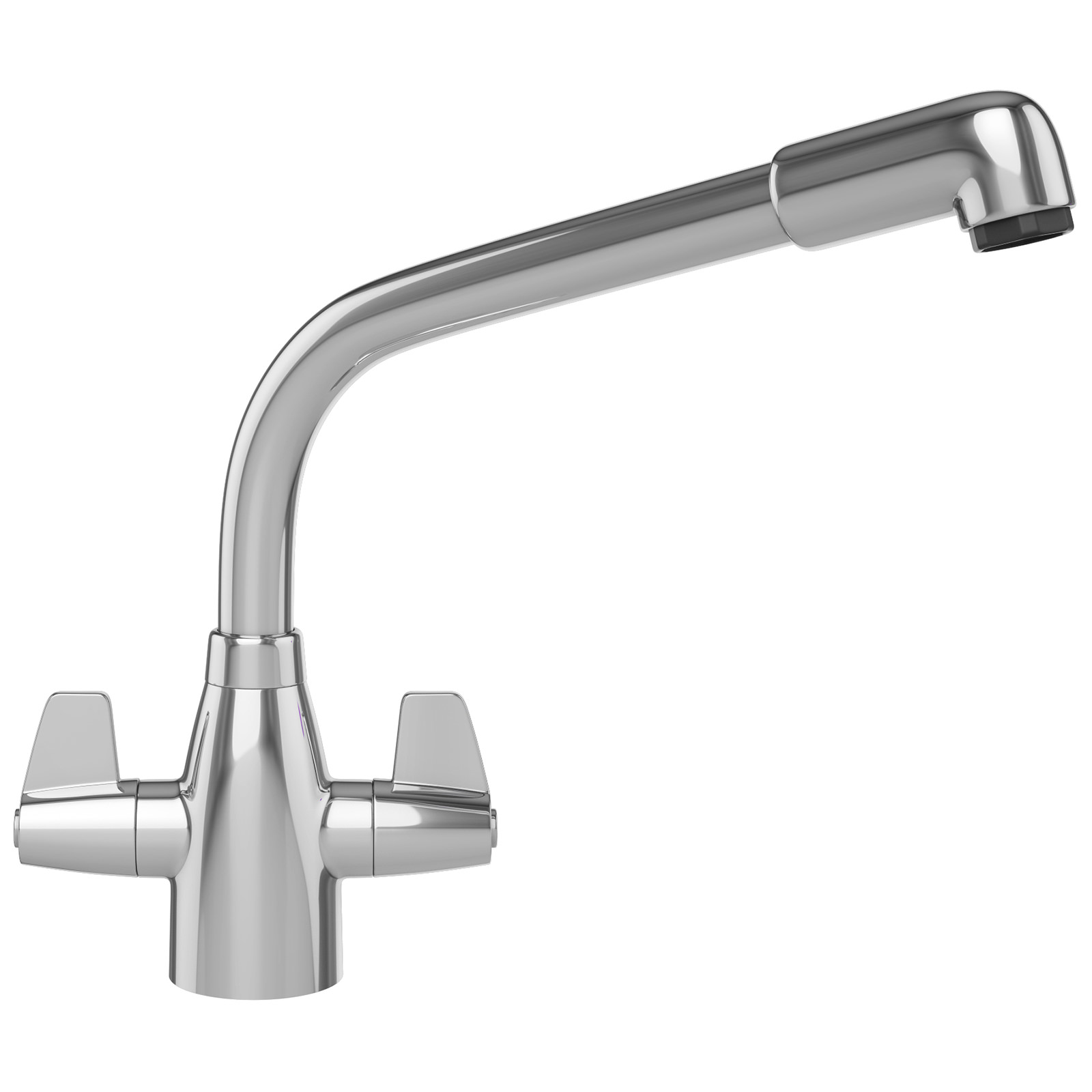 Davos Chrome Kitchen Sink Mixer Tap