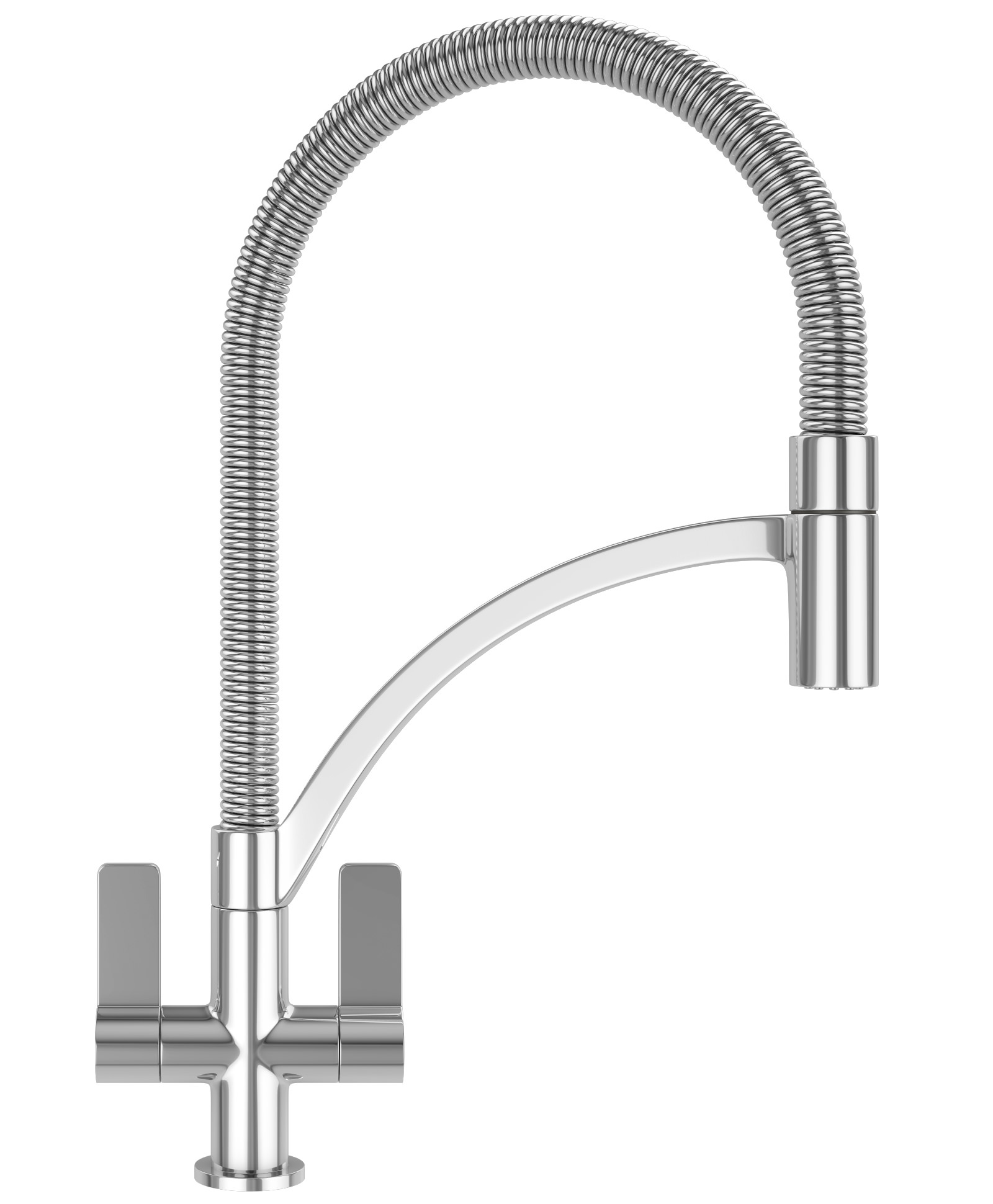 Taps Uk Kitchen Sinks Part - 29: Franke Wave Pull-Out Nozzle Chrome Kitchen Sink Mixer Tap