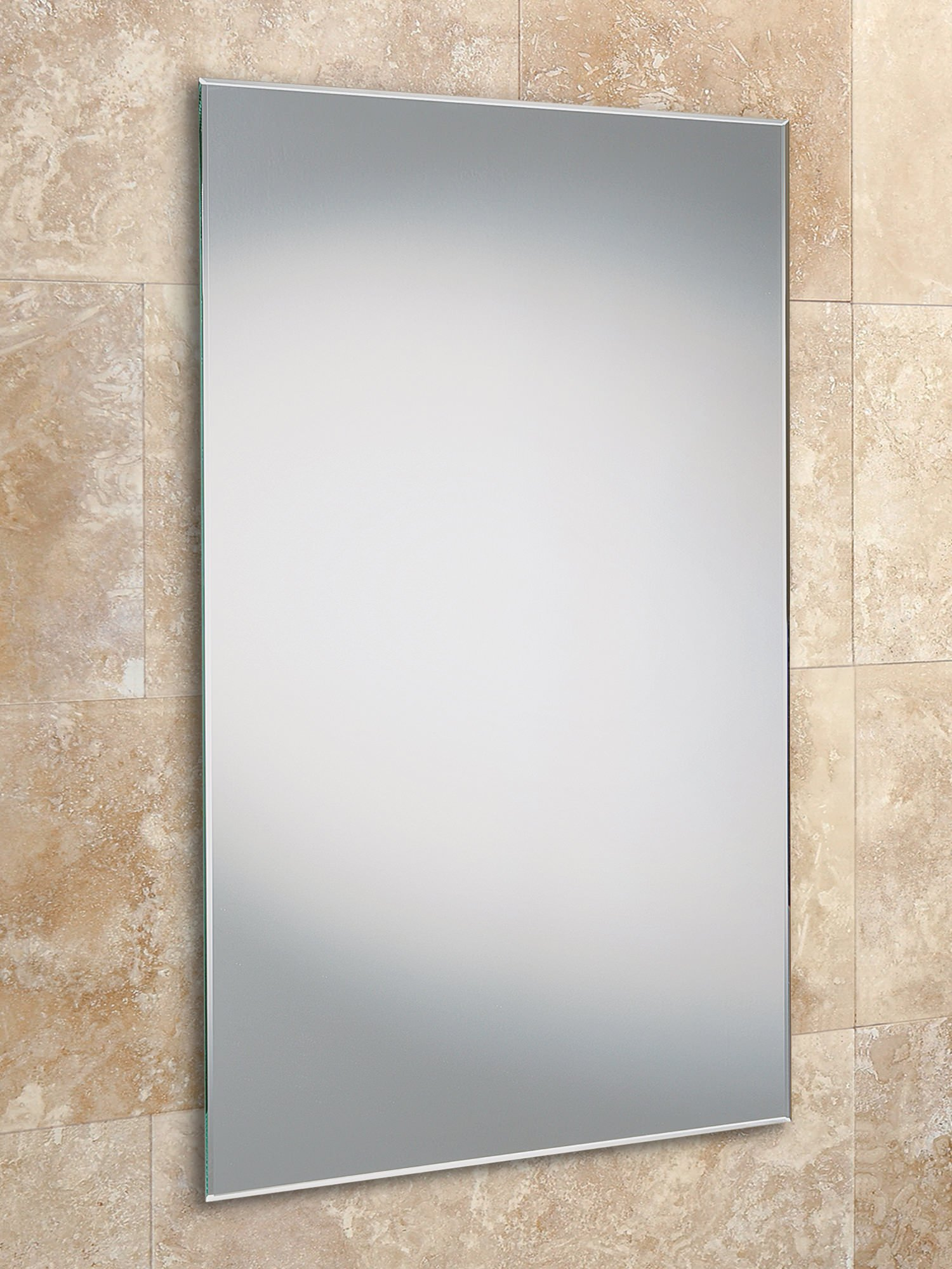 Hib Fili Bevelled Edge Slimline Rectangular Mirror 400 X 800mm
