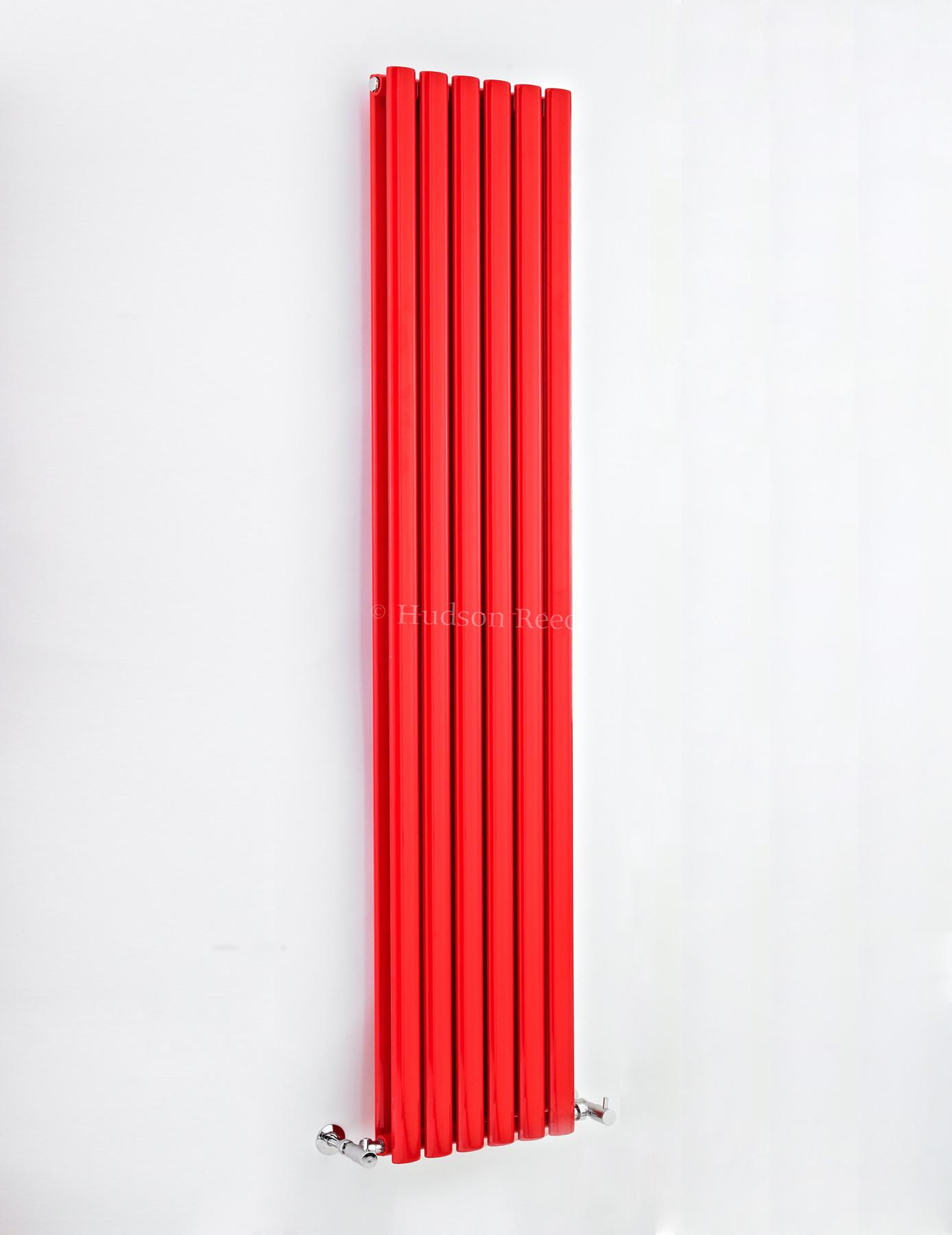 hudson reed revive 354 x 1800mm red double panel vertical. Black Bedroom Furniture Sets. Home Design Ideas