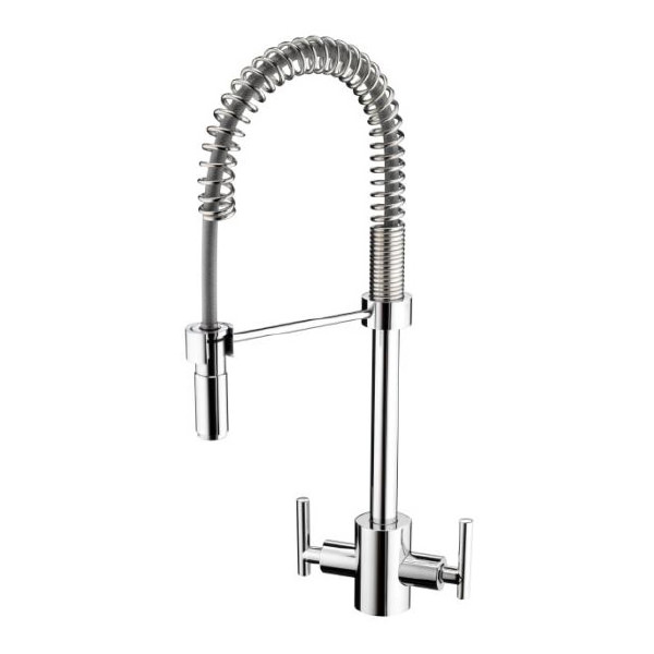 bristan artisan pro kitchen sink mixer tap with pull out spray
