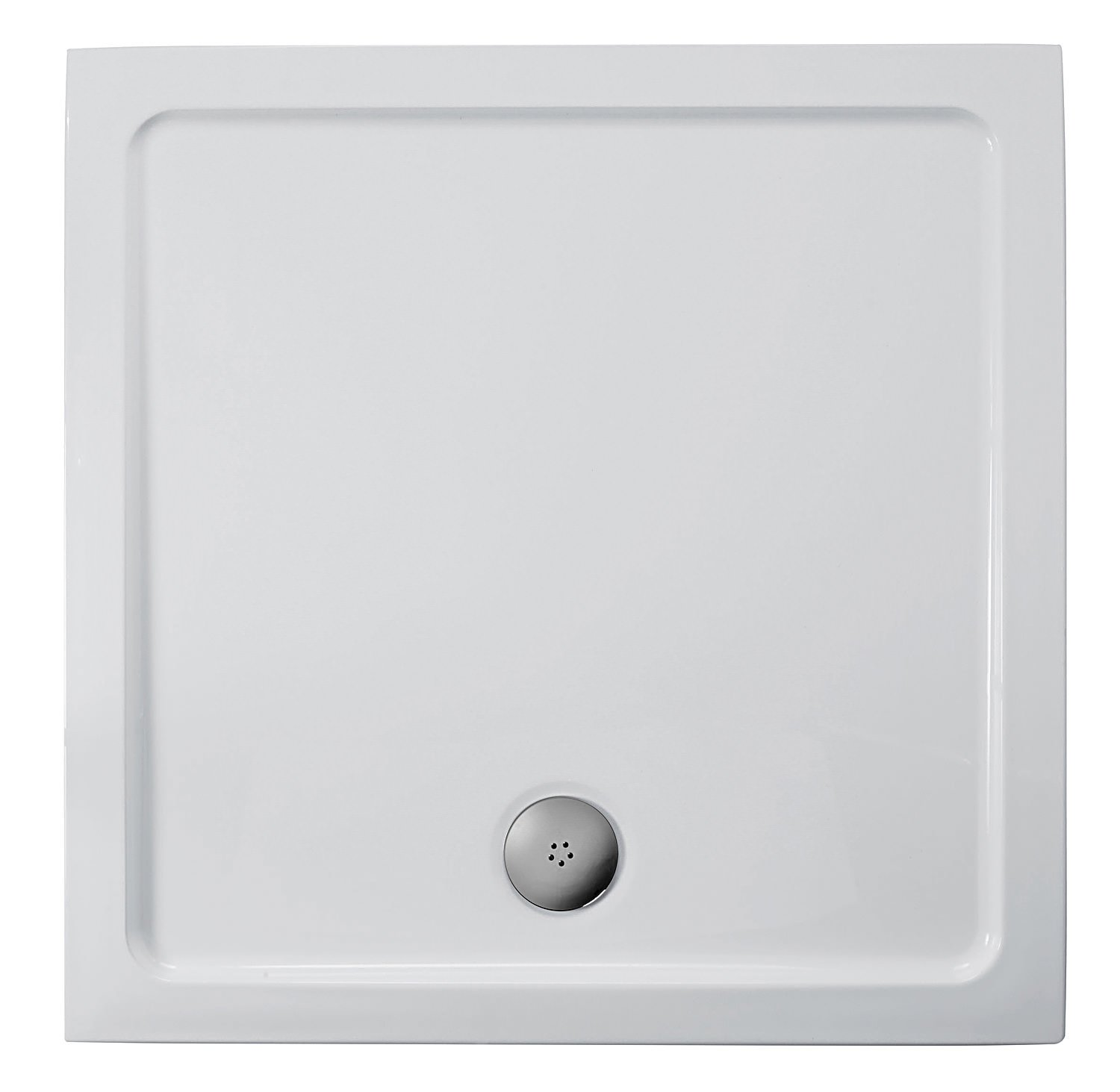 Merveilleux Ideal Standard Simplicity 800mm Flat Top Square Shower Tray With Waste