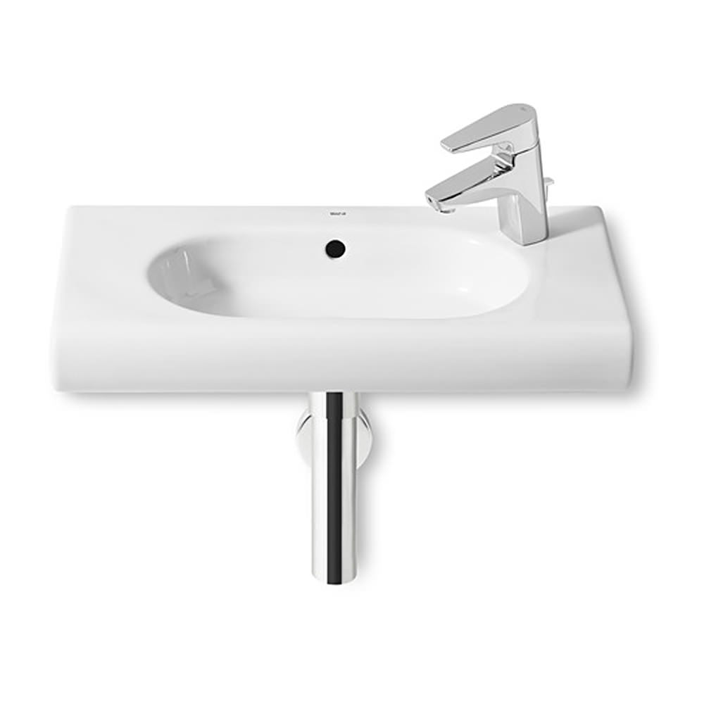 Roca Meridian N Compact Wall Hung 550mm Basin With 1 Rh