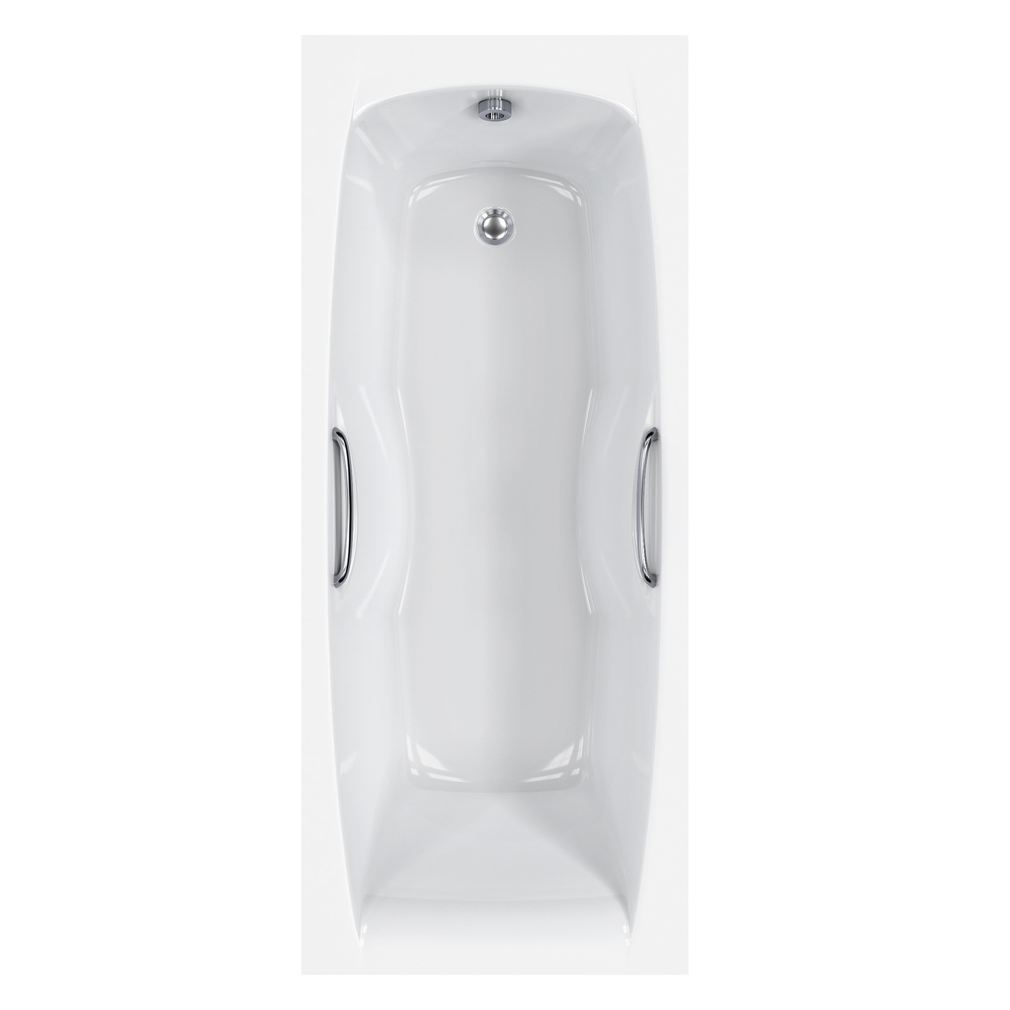 Carron Imperial 5mm Acrylic Bath With Grips 1700 X 700mm