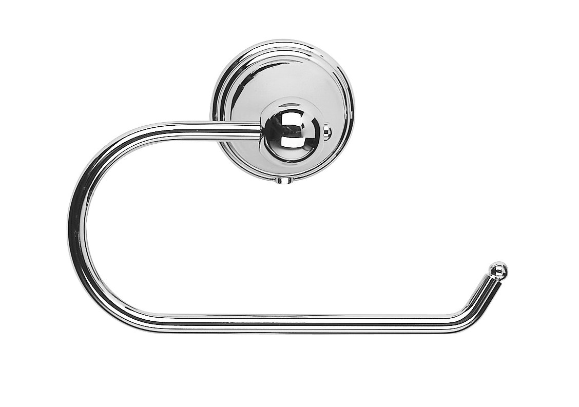 Croydex Westminster Chrome Plated Toilet Roll Holder