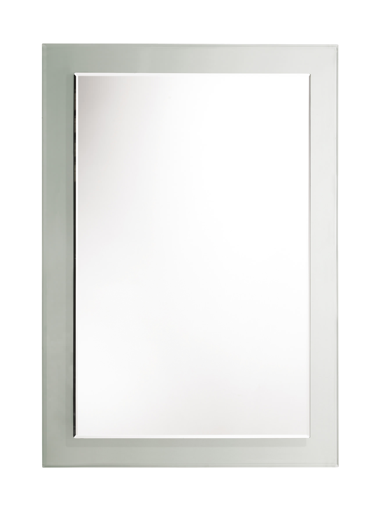 Bevelled Bathroom Mirror Rhodes Level Bevelled Mirror With Clear Glass Frame