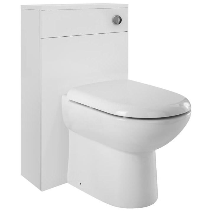 Nuie Premier Design 500mm Back To Wall Wc Furniture Unit