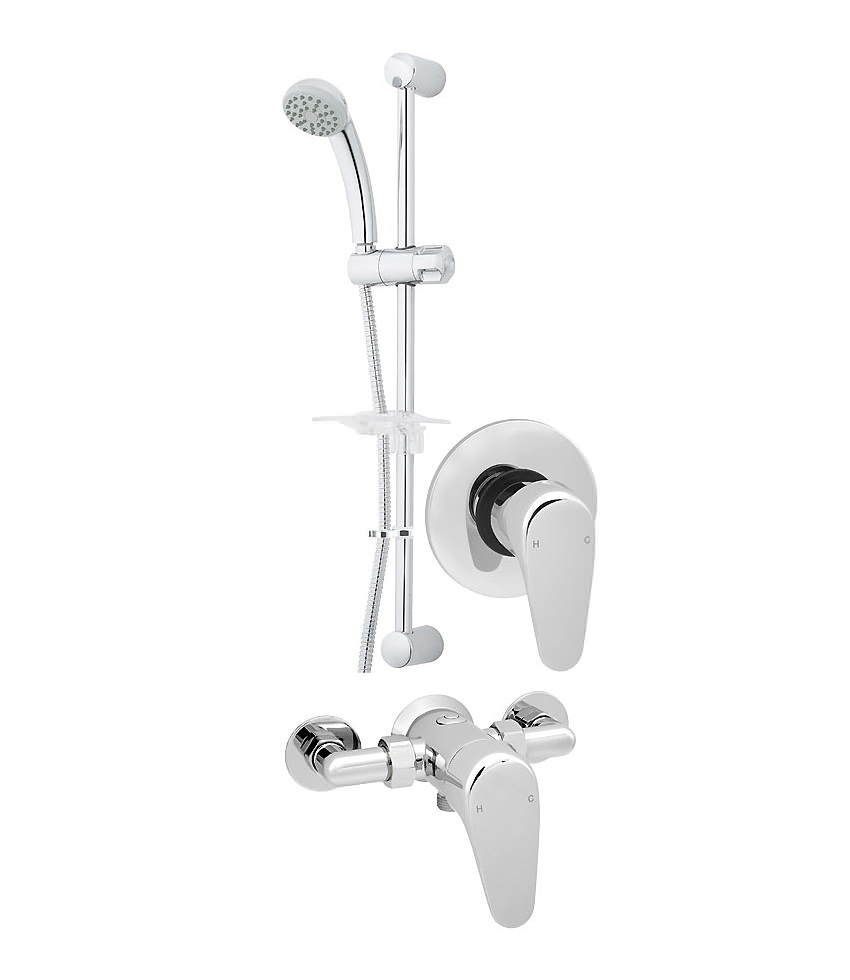 Adore Manual Shower Valve With Single Mode Shower Kit