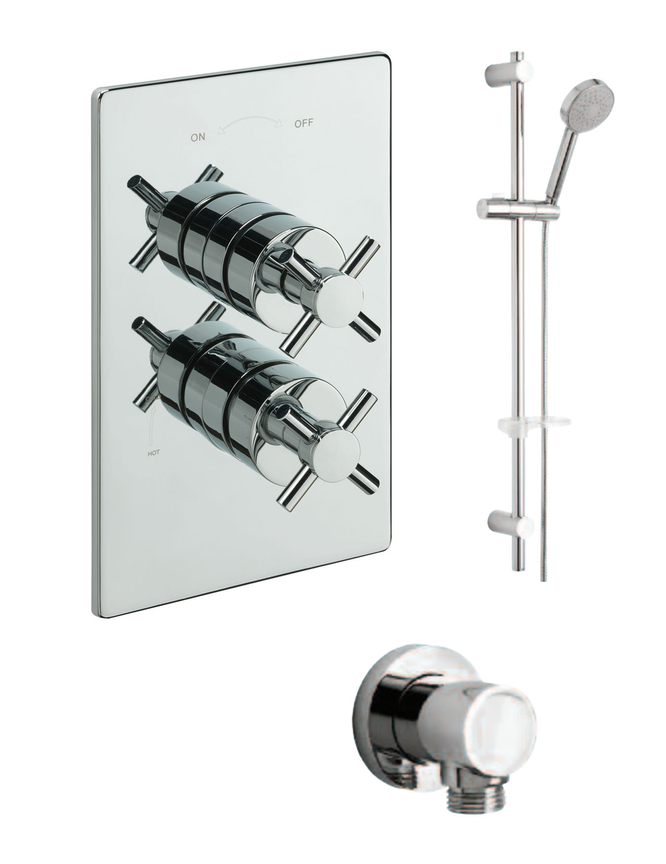 mirrors for the bathroom tre mercati crosshead concealed shower valve with shower set 19538