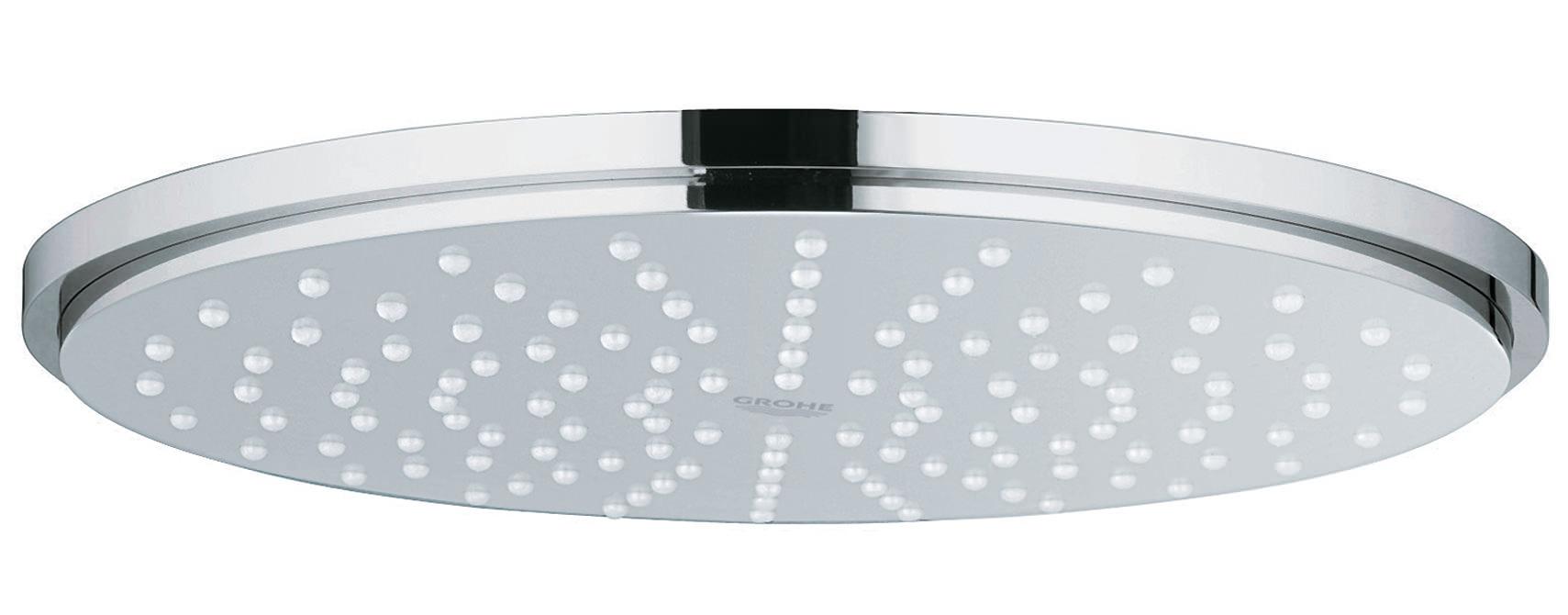 grohe rainshower 210mm single spray shower head