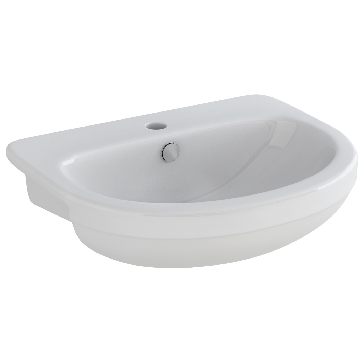 Imponeren Glass Circular Vessel Bathroom Sink by Novatto