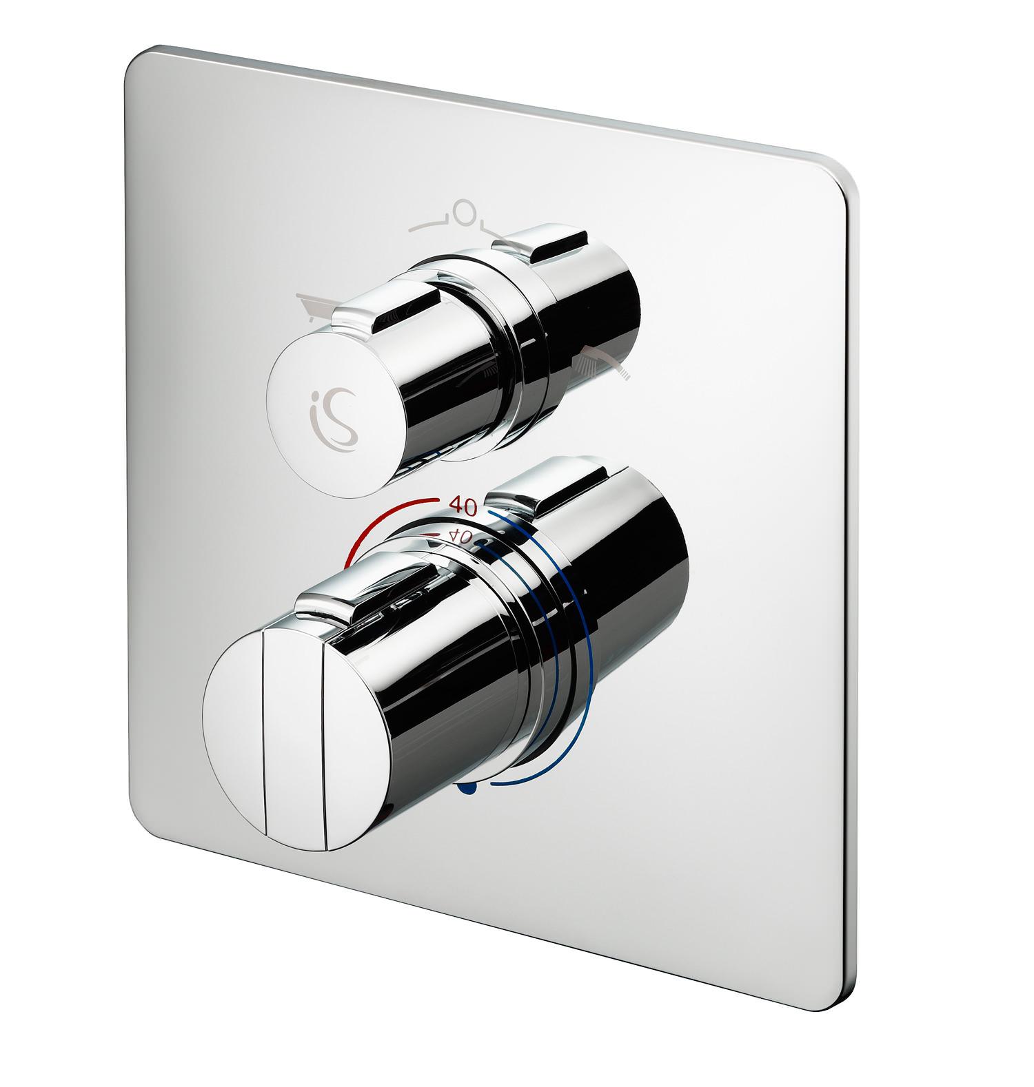 ideal standard concept easybox slim bath shower mixer valve