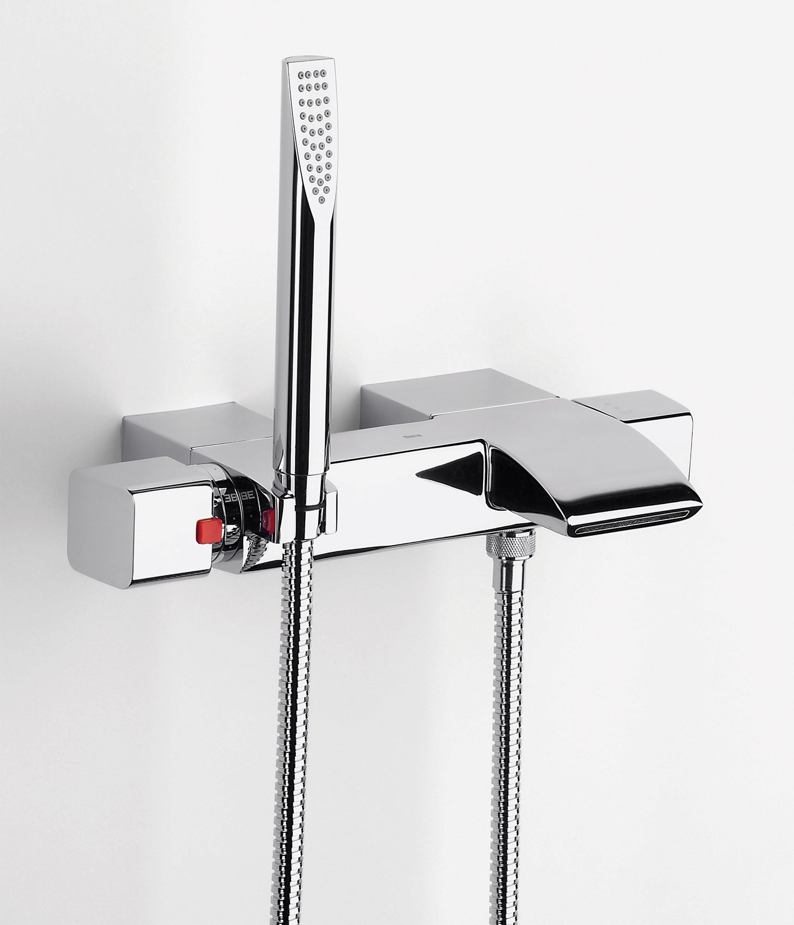 Roca Thesis T Thermostatic Bath Shower Mixer With Kit