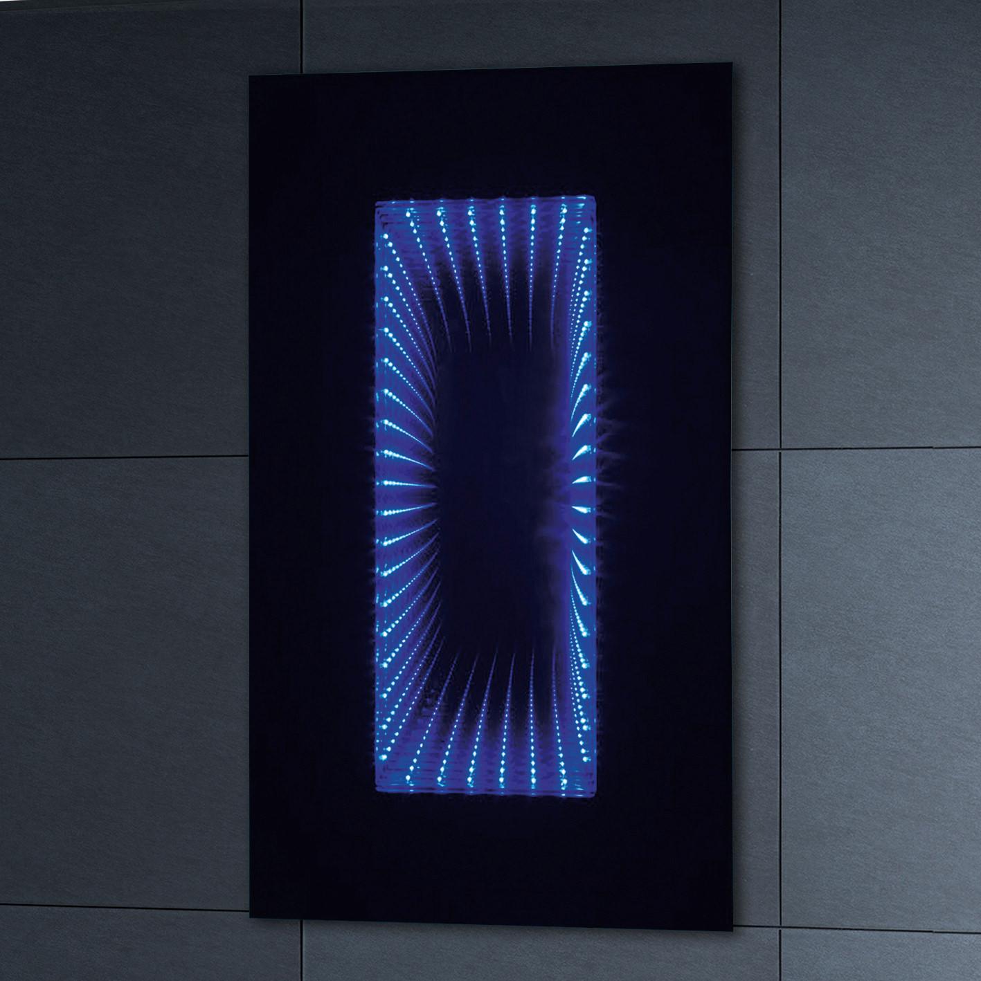Phoenix infiniti led illuminated mirror 900 x 500mm for Illuminated mirrors