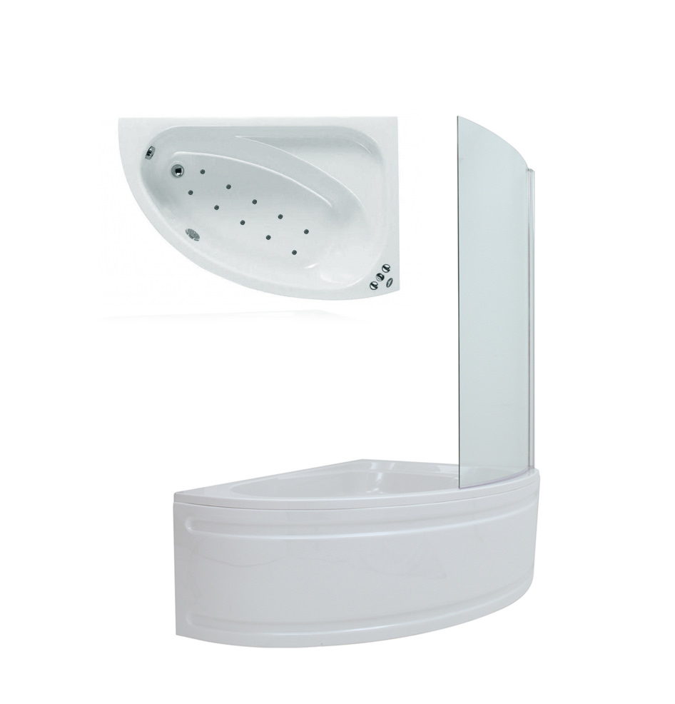 phoenix duo right hand airpool bath 1500 x 1000 with screen phoenix duo right hand airpool shower bath 1500 x 1000 with screen