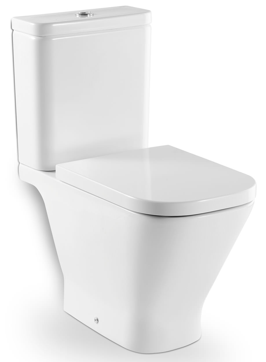 Roca the gap open back close coupled eco wc pan with cistern for Roca the gap