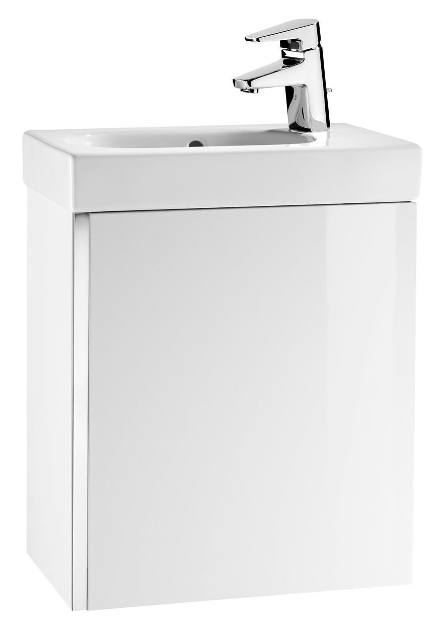 Roca mini basin and base unit gloss white for White gloss kitchen base units