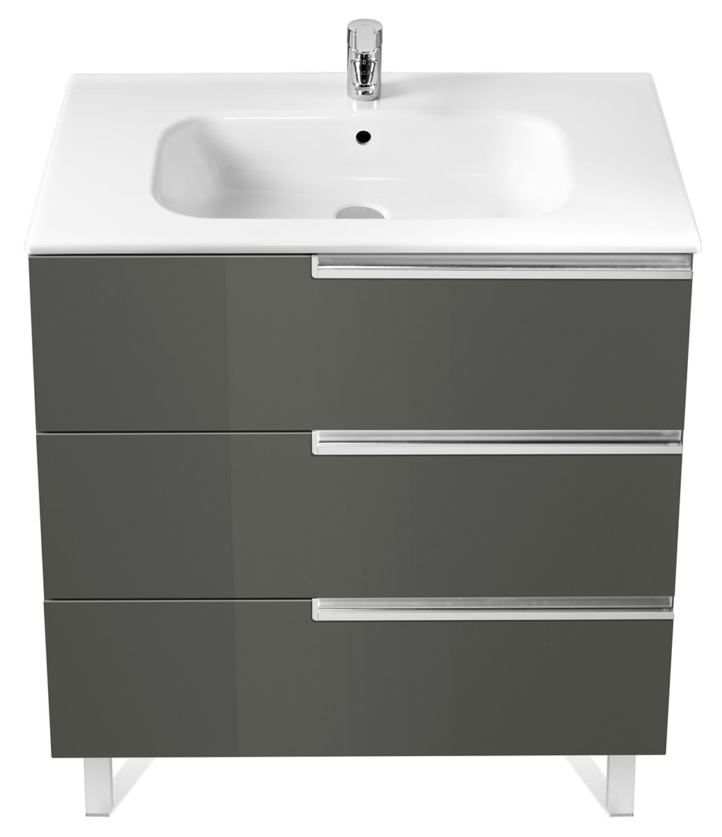 Roca victoria n unik basin and unit with 3 drawers 1000mm for Roca victoria