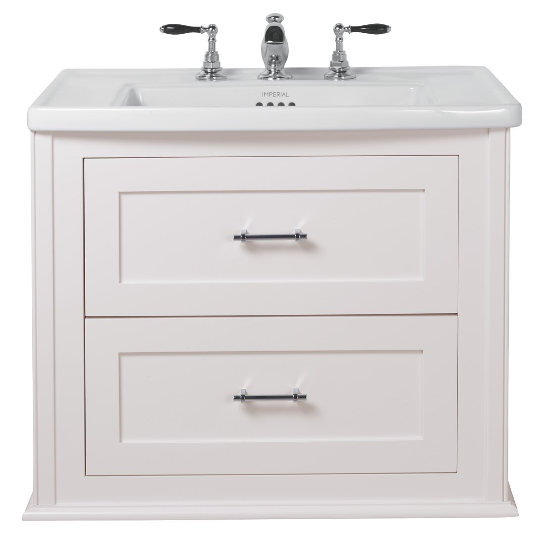 Radcliffe Thurlstone White Linen Wall Hung Vanity Unit